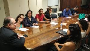 Representantes de grupos de dança de Minas Gerais apresentam reivindicações a Roberto Andrade