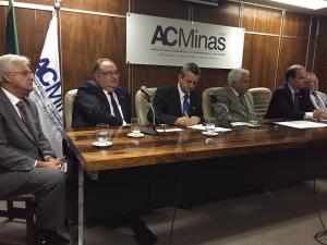 Para Roberto Andrade, a união de lojistas e prestadores de serviços é fundamental para fomentar o desenvolvimento comercial de Minas Gerais
