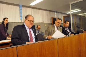 Roberto Andrade (deputado estadual PTN/MG), Antônio Carlos Arantes (deputado estadual PSDB/MG),  Fábio Avelar Oliveira (deputado estadual PTdoB/MG)