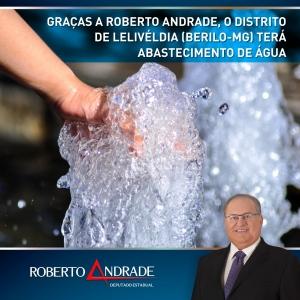 Sem articulação de Roberto Andrade, a conquista não seria possível